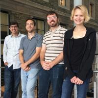 Members of the Brett Fors lab in chemistry