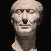Bust of Caesar's head