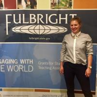 A&S student that won the Fulbright Award
