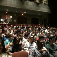 Spider man showing in 3D at Cornell Cinema