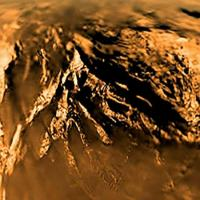 Image of Titan's surface