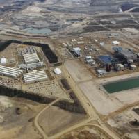 Photo of oil sands in Alberta Canada.