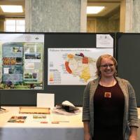 Cornell graduate students presenting their work