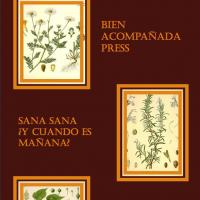 The cover of Bien Acompanada Press first issue