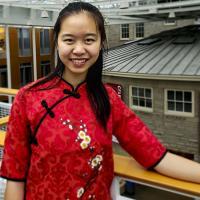 Chunlu Li on campus