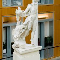 Sculpture in Klarman Hall