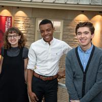 College Scholars program students