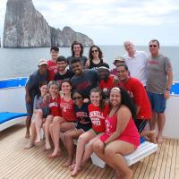 Biological Sciences Scholars at the Galapagos Island