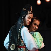 Jack Liufu '21 performing at showcase in May 2019.
