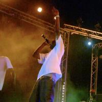 Hip hip concert in Senegal