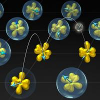 Model of electron valance