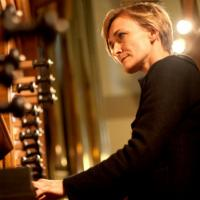 Annette Richards at the organ