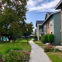 House, grass, sidewalk