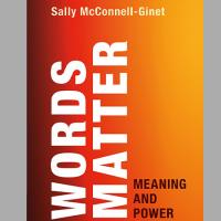 Book cover: Words Matter