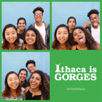 Me and some of my RA coworkers at CU Downtown, a large-scale program to introduce Ithaca to incoming freshmen during their first few weeks at Cornell.