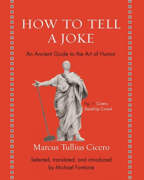 Red book cover: How to Tell a Joke