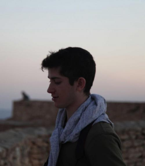  Daniel Vebman self portrait photo. 