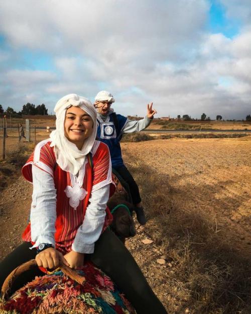 girl on camel