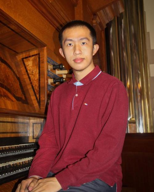 man at organ