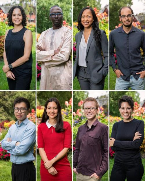 Collage of 2021 New Faculty