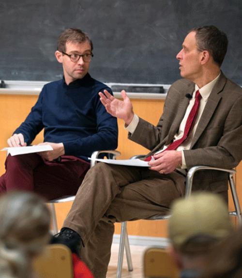 Professors discussing impeachment