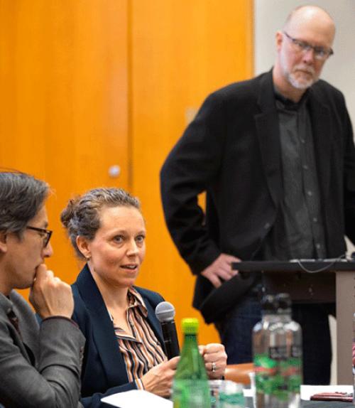 Panelist talk about coronavirus