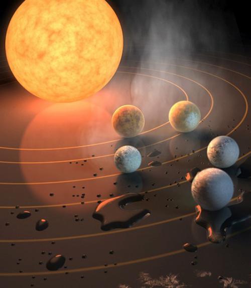 planet system model
