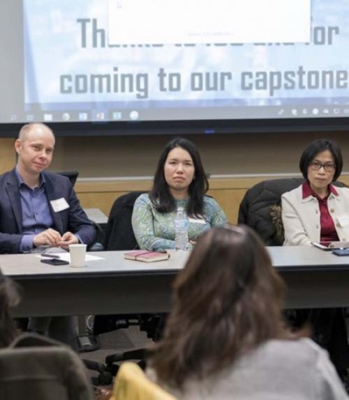 Panel of Professors for CAPS