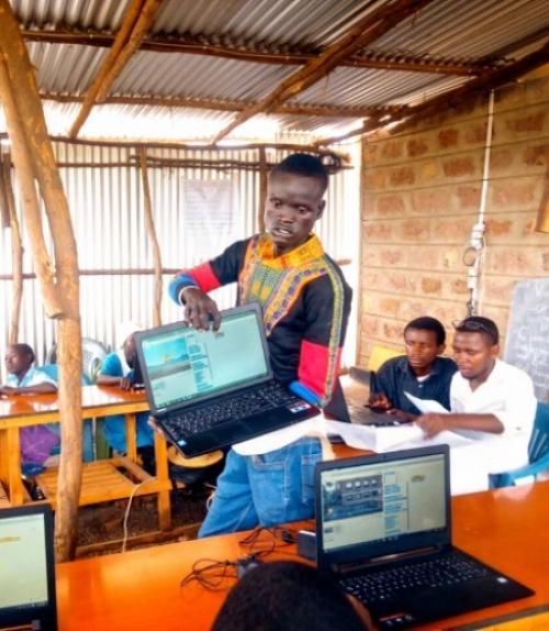 Teacher in Kenya