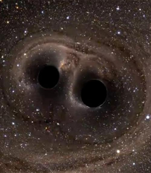 Image of black holes