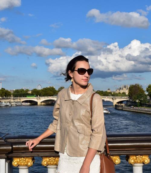 Photo of G. Pinheiro in Paris