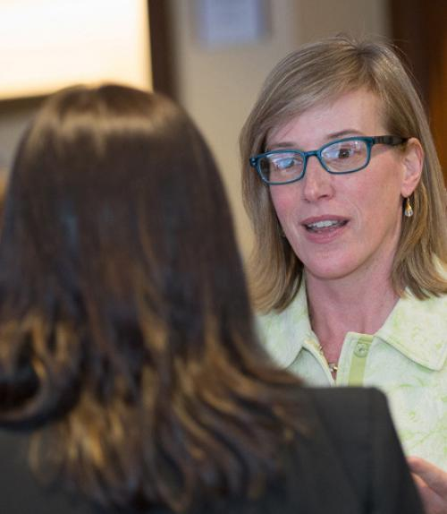 Katherine McComas, vice provost for engagement and land-grant affairs.