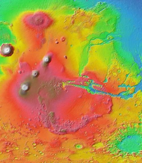 Geologic map of Mars