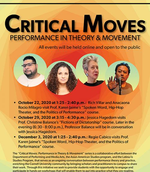 Critical moves poster