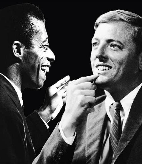 James Baldwin and William F. Buckley