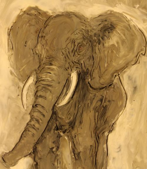 "Elephant from ""The Elephant's Song"""