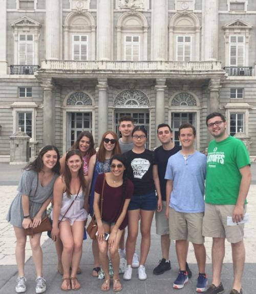 Students in Spanish city