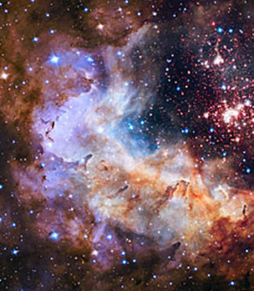 ESA/Hubble image of a nebul