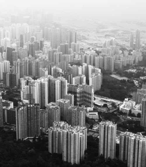 Aerial photo of a city, Photo byPop & ZebraonUnsplash