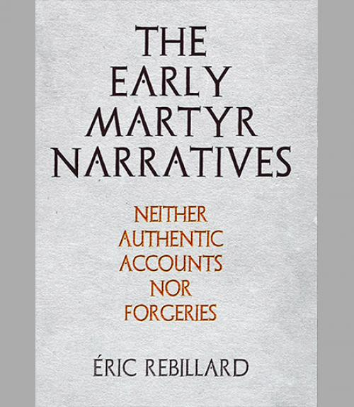 BOOK COVER: The Early Martyr Narratives