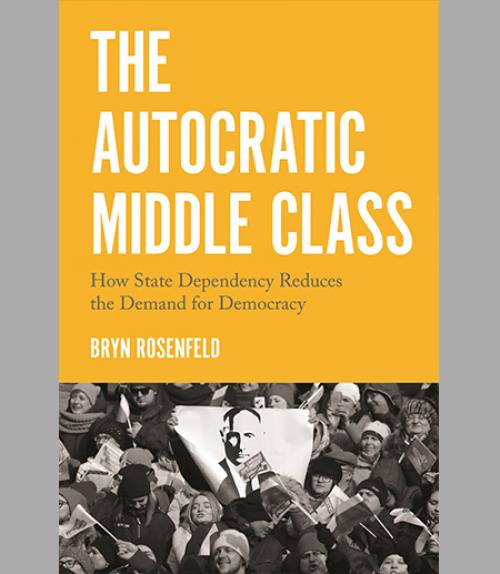 Book cover: The Autocratic Middle Class
