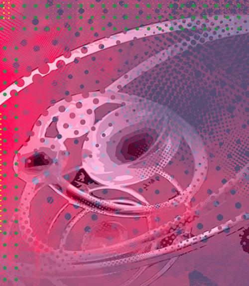 Illustration of subatomic quantum matter
