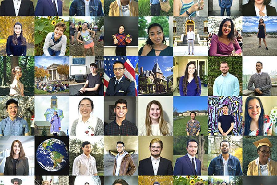 Collage of 2020 seniors
