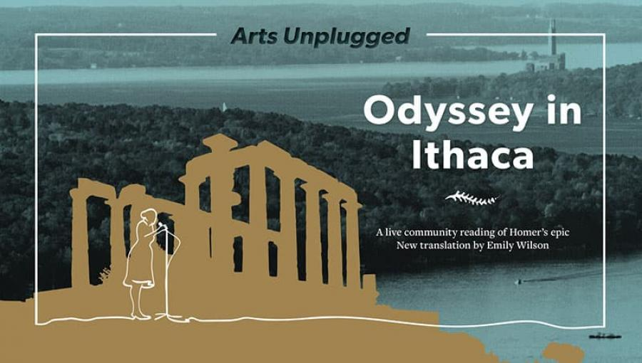 Poster for 'Odyssey in Ithaca' event