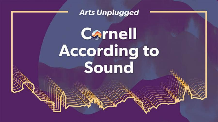 Cornell According to Sound event poster