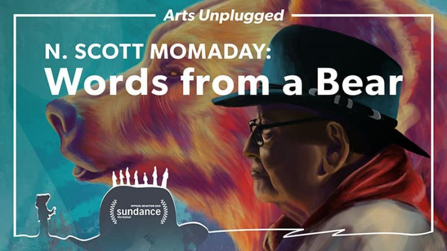 Poster for N. Scott Momaday: Words from a Bear