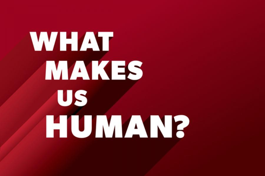 What Makes Us Human podcast logo