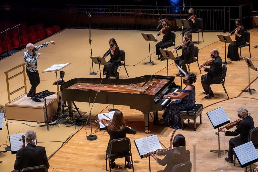 Price's Piano Concerto in One Movement, conducted by Yannick Nézet-Séguin, and featuring pianist Michelle Cann