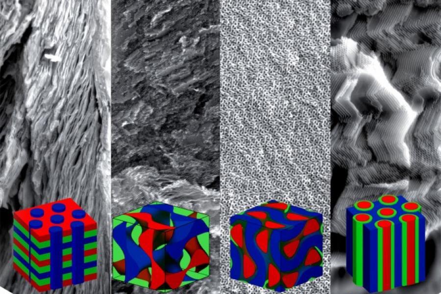 four superconductor quantum material structures