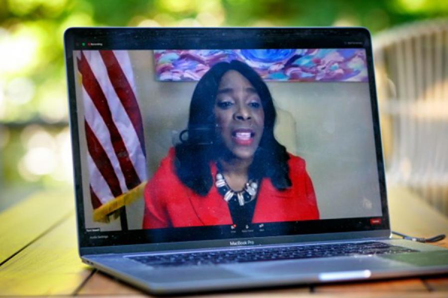 U.S. Rep. Terri Sewell of Alabama